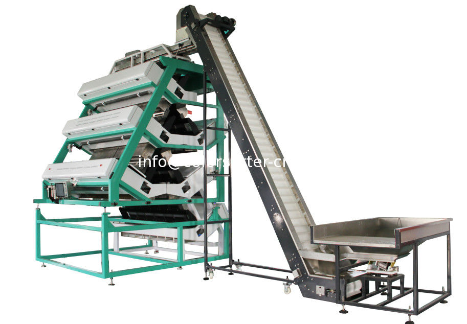 tea color sorting machine,with reverse sorting function,6 layer tea sorting machine
